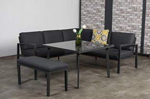 414c2bTFAEL 310x205 - Garden Impressions Hohe Dining Aluminium Lounge Wellington, inklusive XL Bank und wasserabweisender Kissen