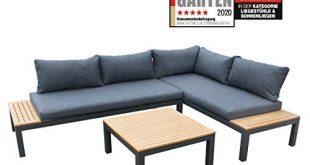 Gartenfreude Ambience Lounge Gruppe Dunkelgrau 310x165 - Gartenfreude Ambience Lounge Gruppe, Dunkelgrau