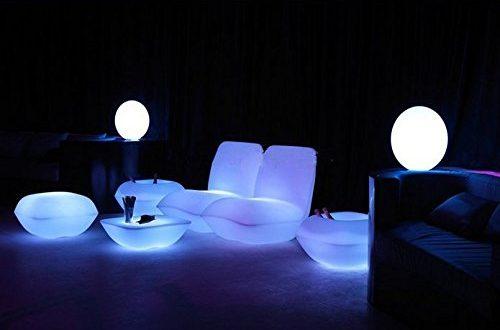 Gowe Vondom Kissen wasserfest mit LED Beleuchtung fuer Wohnzimmer Pool Garten 500x330 - Gowe Vondom Kissen, wasserfest, mit LED-Beleuchtung, für Wohnzimmer, Pool, Garten, Bar, Terrasse etc.
